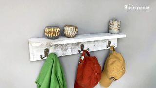 crea decora recicla un perchero con un palé