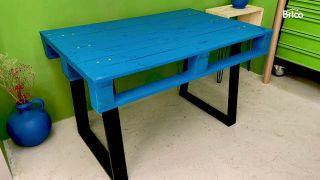 mesa alta con palets paso 15