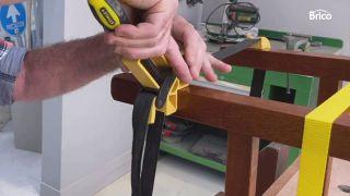 arreglar silla madera reforzar cinta