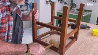 Arreglar silla de madera paso 2