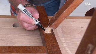 arreglar silla madera paso 3