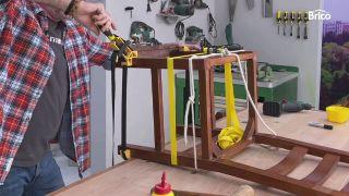 arreglo de sillas de madera paso 8