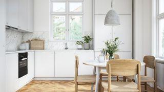 Cómo darle vida a una cocina blanca