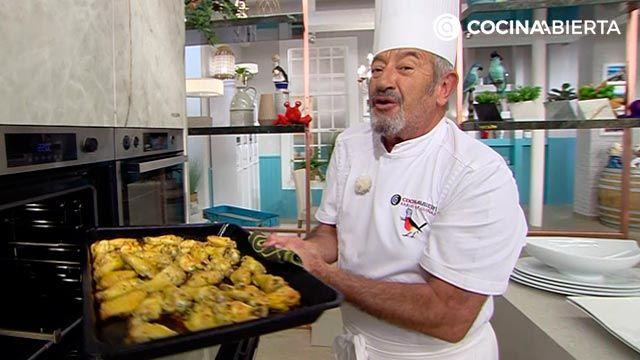 Cómo hacer alitas de pollo al horno sabrosas y crujientes - consejo de Karlos Arguiñano
