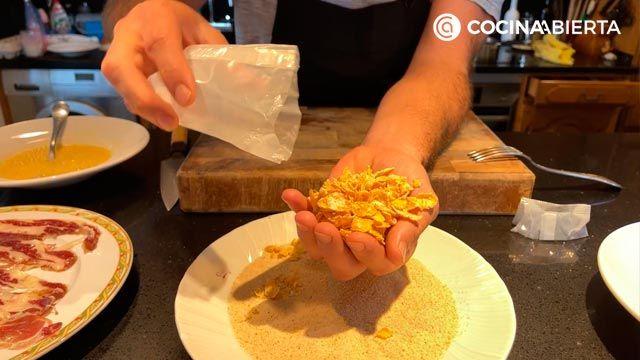 cómo hacer rebozados crujientes - el truco de Joseba Arguiñano