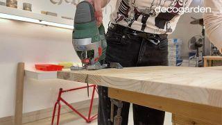 Cómo hacer un móvil decorativo de madera DIY - Paso 3
