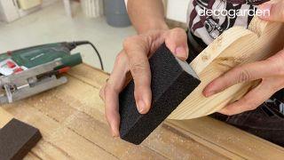 Cómo hacer un móvil decorativo de madera DIY - Paso 4