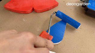 Cómo hacer un móvil decorativo de madera DIY - Paso 8
