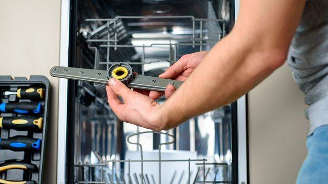 Cómo limpiar el lavavajillas por dentro con vinagre y bicarbonato de sodio