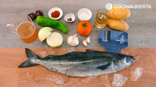 Marmitako de fogonero noruego: ¡el guiso tradicional de pescado con patatas de la cocina vasca! - Ingredientes