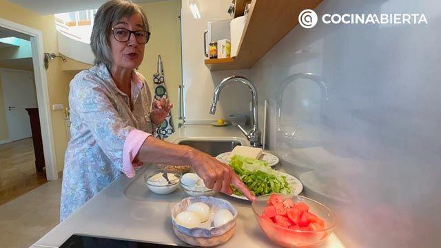 ensaladilla de atún por Eva Arguiñano - Cocina desde casa - Paso 1
