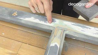 Cómo hacer una pizarra organizadora DIY reciclando una ventana - Paso 2