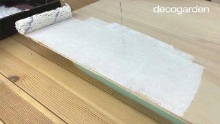 Cómo hacer una pizarra organizadora DIY reciclando una ventana - Paso 6