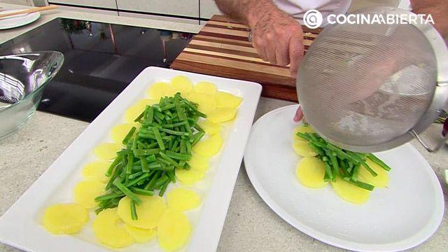 Ensalada de patata y judías verdes