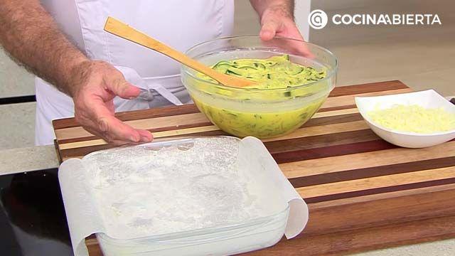 Pastel de calabacín al horno