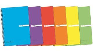 Materiales básicos para la vuelta al cole: cuadernos
