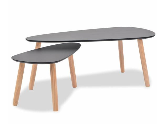 Mesas de centro ovaladas