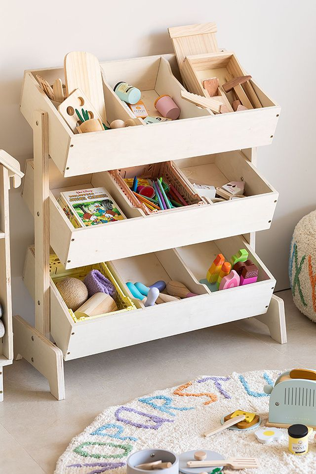 Mueble organizador de juguetes Montessori de Sklum