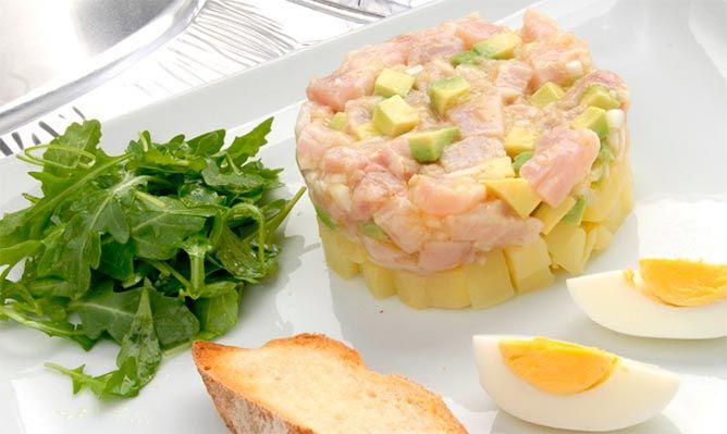 ensalada de atún y arroz