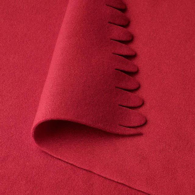 Manta Polarvide en rojo - Detalles