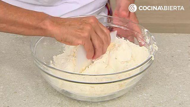 Tarta de arándanos americana (con masa quebrada casera): ¡la receta más fácil de Eva Arguiñano! - paso 1