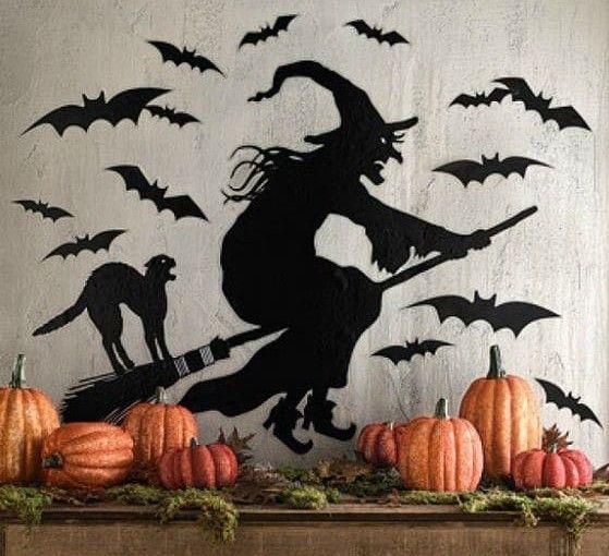 adornos halloween brujas de halloween 3