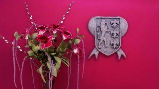 Adornos halloween escudo