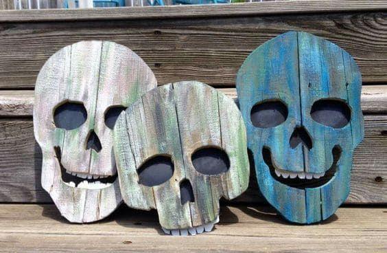 adornos halloween esqueleto halloween 1