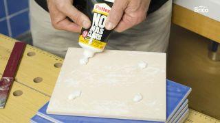 Cómo reparar azulejos paso 5