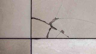 cómo arreglar un azulejo roto