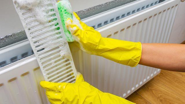 Cómo limpiar los radiadores a fondo y sin esfuerzo