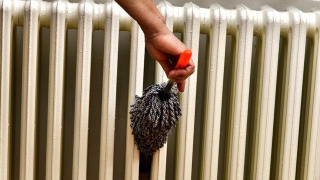 Cómo limpiar los radiadores de hierro fundido
