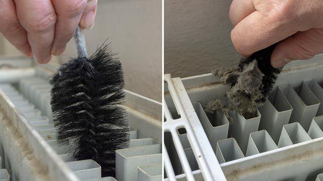 Cómo limpiar las ranuras de los radiadores