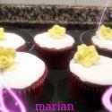 Cupcakes veganos de limón (para San Valentín)