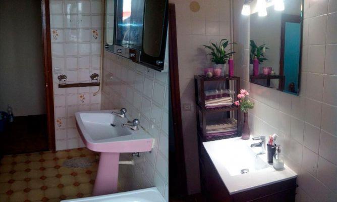 Reformar un baño sin obra en la Comunidad de Decoración ...