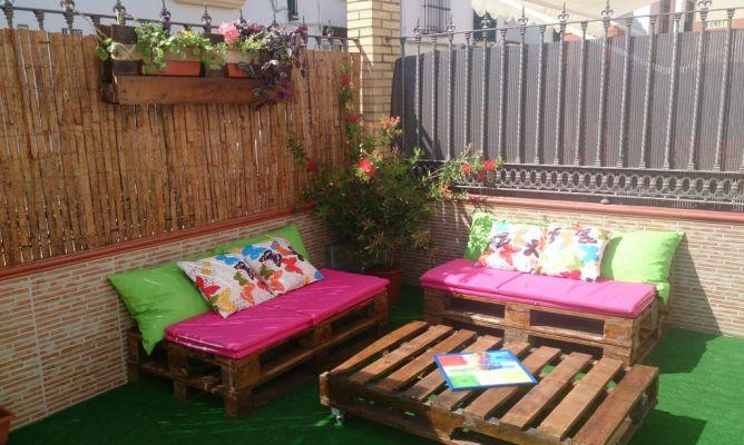 Porche jard n en la comunidad de bricolaje for Cerrar porche jardin