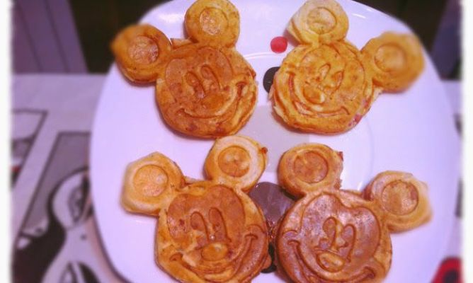 Sanwich-pizza de mickey