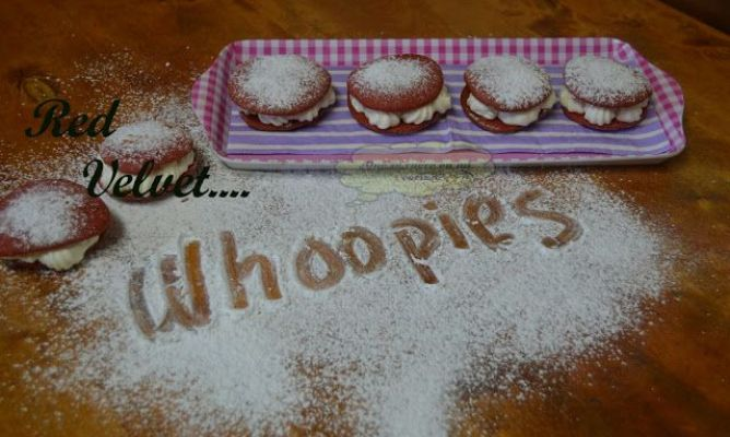 "Whoopies ""Red velvet"""