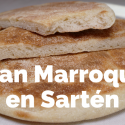 Pan Marroquí en sartén