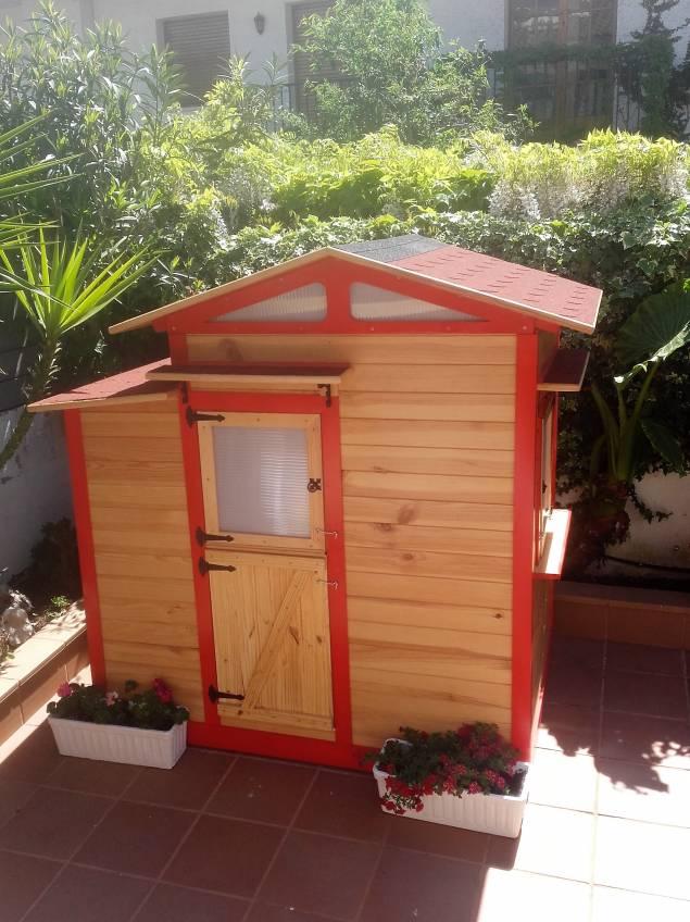 Casita infantil para jard n en la comunidad de bricolaje for Casita infantil jardin