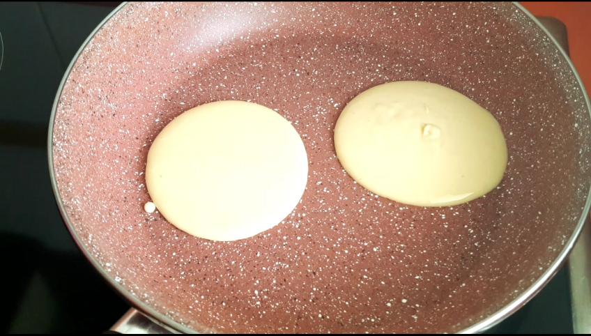 como hacer pancake paso a paso